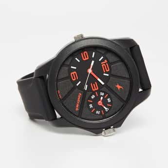 FASTRACK Men's Dual Timer Analog Watch - 38042PP01