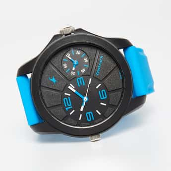 FASTRACK Men's Dual-Timer Analog Watch - 38042PP04