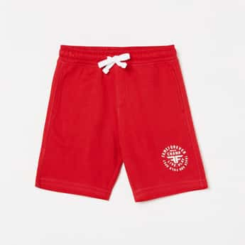 FAME FOREVER YOUNG Boys Printed Elasticated Shorts