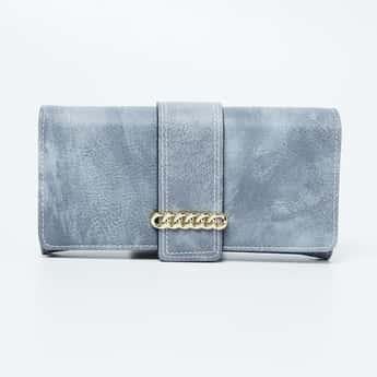TONIQ Textured Bi-Fold Wallet