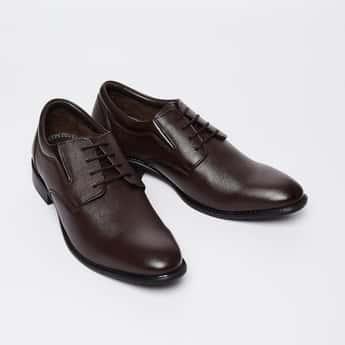 LEE COOPER Textured Formal Shoes