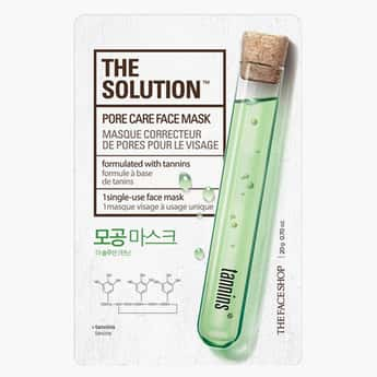 THE FACE SHOP The Solution Pore Care Face Mask