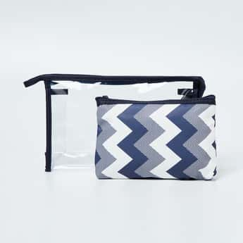 GINGER Printed Cosmetic Pouch- Set of 2