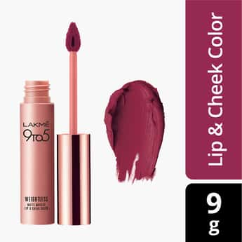 LAKME 9 to 5 Weightless Lip  And Cheek Color