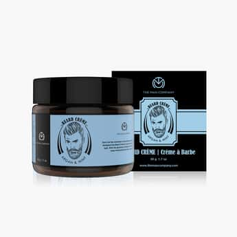 THE MAN COMPANY Beard Softening Cream-Argan & Mint