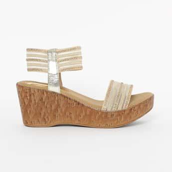 CATWALK Embellished Platform with Wedge Heels