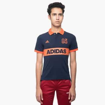 ADIDAS Printed Polo T-shirt