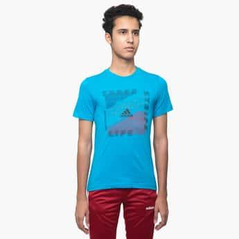 ADIDAS Graphic Print Short Sleeves T-shirt