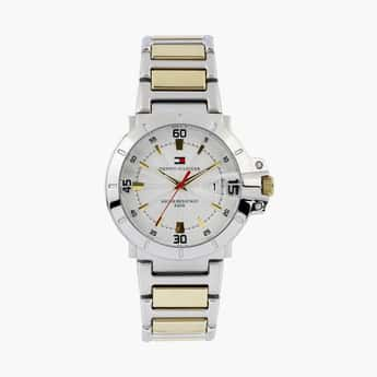 TOMMY HILFIGER Men Dual-Toned Watch with Date Display - NBTH1790514