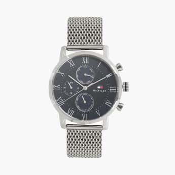 TOMMY HILFIGER Analog Blue Dial Men's Wristwatch - TH1791398