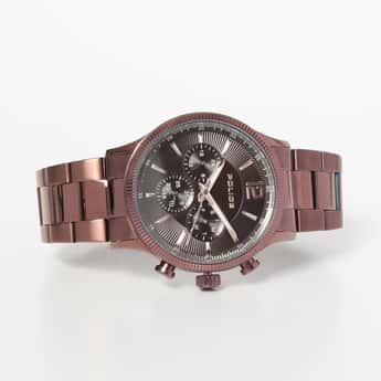 POLICE Men Stainless Steel Multifunctional Watch - PL15302JSBN12M
