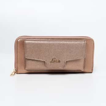 LAVIE Textured Zip-Around Wallet