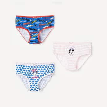 FAME FOREVER Printed Hipster Panties - Pack of 3