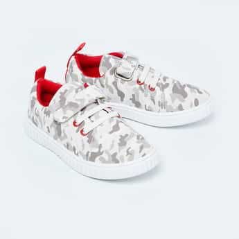 FAME FOREVER Camouflage Print Casual Lace-Up Shoes