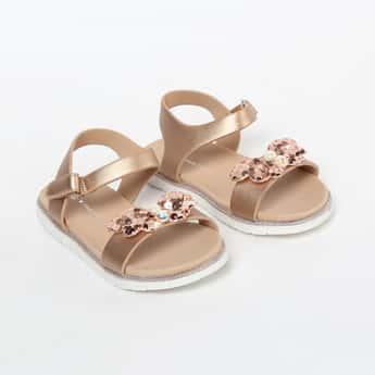 FAME FOREVER Embellished Sandals