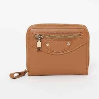 GINGER Solid Zip-Around Wallet