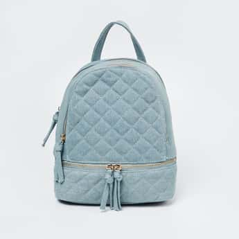 GINGER Quilted Textured Backpack