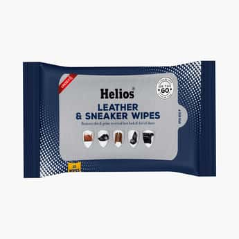 HELIOS Leather and Sneaker Wipes