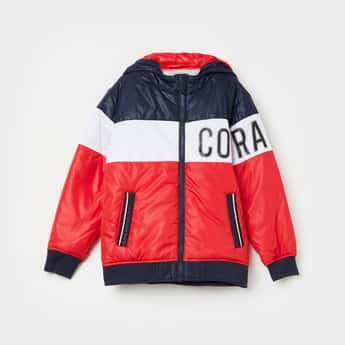 LEE COOPER JUNIORS Colourblocked Puffer Jacket
