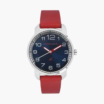 FASTRACK Girls Analog Watch with Leather Strap - NL6111SL02