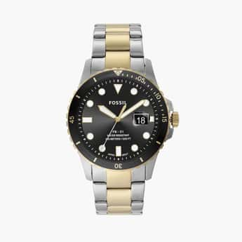 FOSSIL FB-01 Men Two-Toned Analog Watch - FS5653