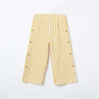 FAME FOREVER KIDS Striped Palazzo Pants