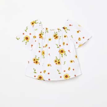 FAME FOREVER YOUNG Floral Printed Top