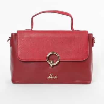 LAVIE Textured Colourblocked Sling Bag