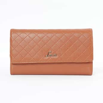 LAVIE Quilted Tri-Fold Wallet