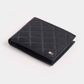 TOMMY HILFIGER Men Textured Leather Wallet