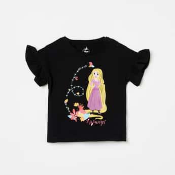 JUNIORS Girls Printed Short Sleeves Top
