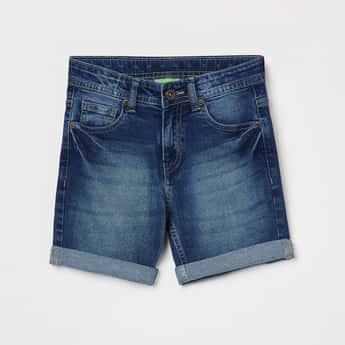 BOSSINI Boys Stonewashed Denim Shorts