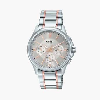 CASIO Enticer Men Multifunctional Watch - MTP-1375HRG-7A2VIF (A1659)