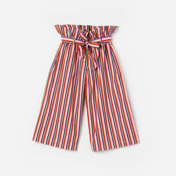 UNITED COLORS OF BENETTON Girls Striped Culottes
