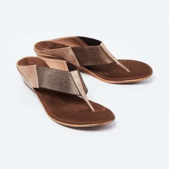 INC.5 Textured T-strap Wedges