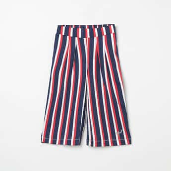 U.S. POLO ASSN. KIDS Striped Knitted Palazzos