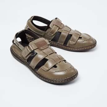 LEE COOPER Solid Sandals