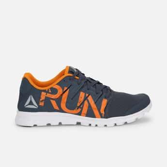 REEBOK Run Printed Lace-Up Running Shoes