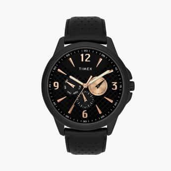 TIMEX Men Multifunction Watch with Leather Strap - TWEG16517