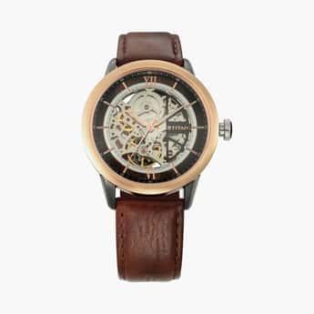 TITAN Men Water-Resistant Automatic Watch- NN1798KL01F
