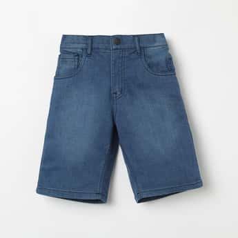 GINI & JONY Stonewashed Denim Shorts