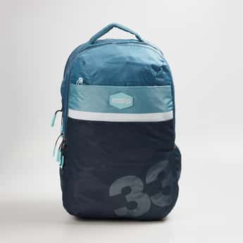 AMERICAN TOURISTER Unisex Printed Zip Closure Backpack