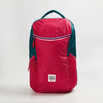AMERICAN TOURISTER Unisex Colourblocked Backpack