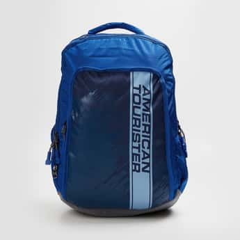 AMERICAN TOURISTER Men Printed Laptop Backpack with Cover