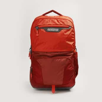 AMERICAN TOURISTER Men Colourblocked Laptop Backpack with Cover