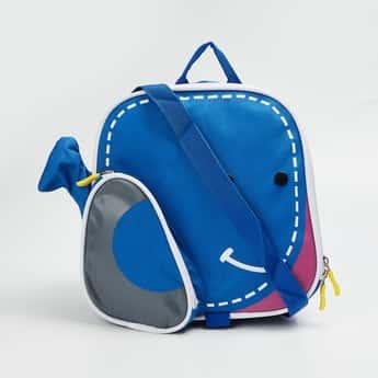 FS MINI CLUB Girls Printed Zip-Closure Backpack