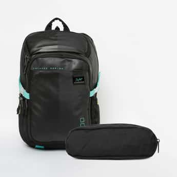 SKYBAGS Printed Unisex Backpack with Pouch