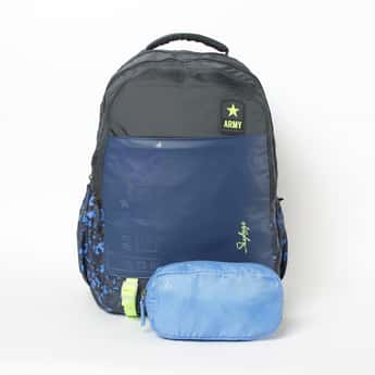 SKYBAGS Aastro Extra Backpack with Pouch and Rain Cover