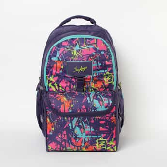 SKYBAGS Astro Extra 04 Printed Backpack with Messenger Bag