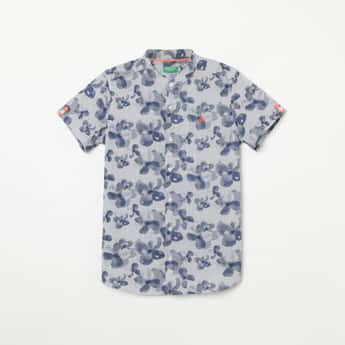 UNITED COLORS OF BENETTON Printed Regular Fit Casual Shirt